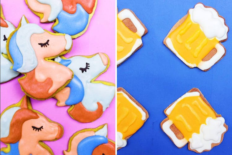 Beer Mugs And Unicorns Cute And Quirky Sugar Cookies For Every Occasion From Inr 30 Lbb
