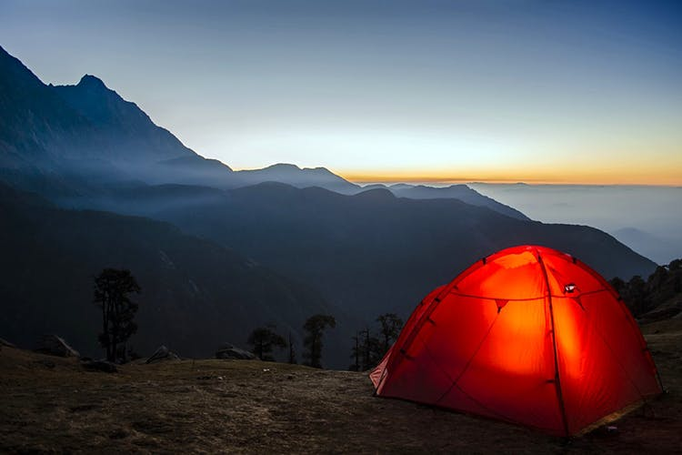 Couple Goals: Camp Under The Stars At Pavna Lake With Bae