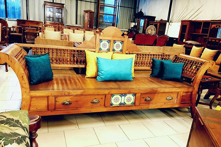 Hereu0027s Where You Can Find Beautifully Carved Antique Furniture In Namma  Chennai