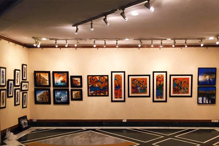 Art gallery,Art exhibition,Exhibition,Museum,Tourist attraction,Building,Art,Event,Vernissage,Visual arts