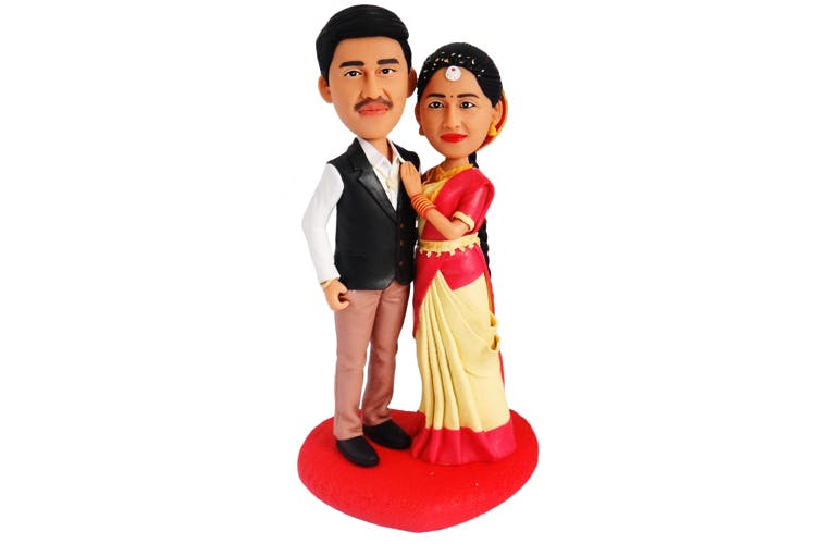 DIY photo doll customization birthday Wax figurines clay figurines married couples miniature mini me statue wedding topper cake decoration
