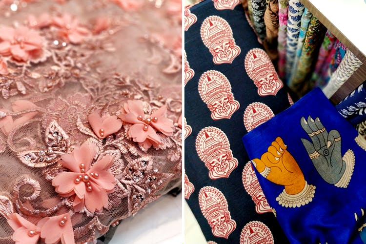 image - Kathakali, Ikkat, Aztec & More: 8 Mind Blowing Prints We Found At The Fabric Stores On MG Road