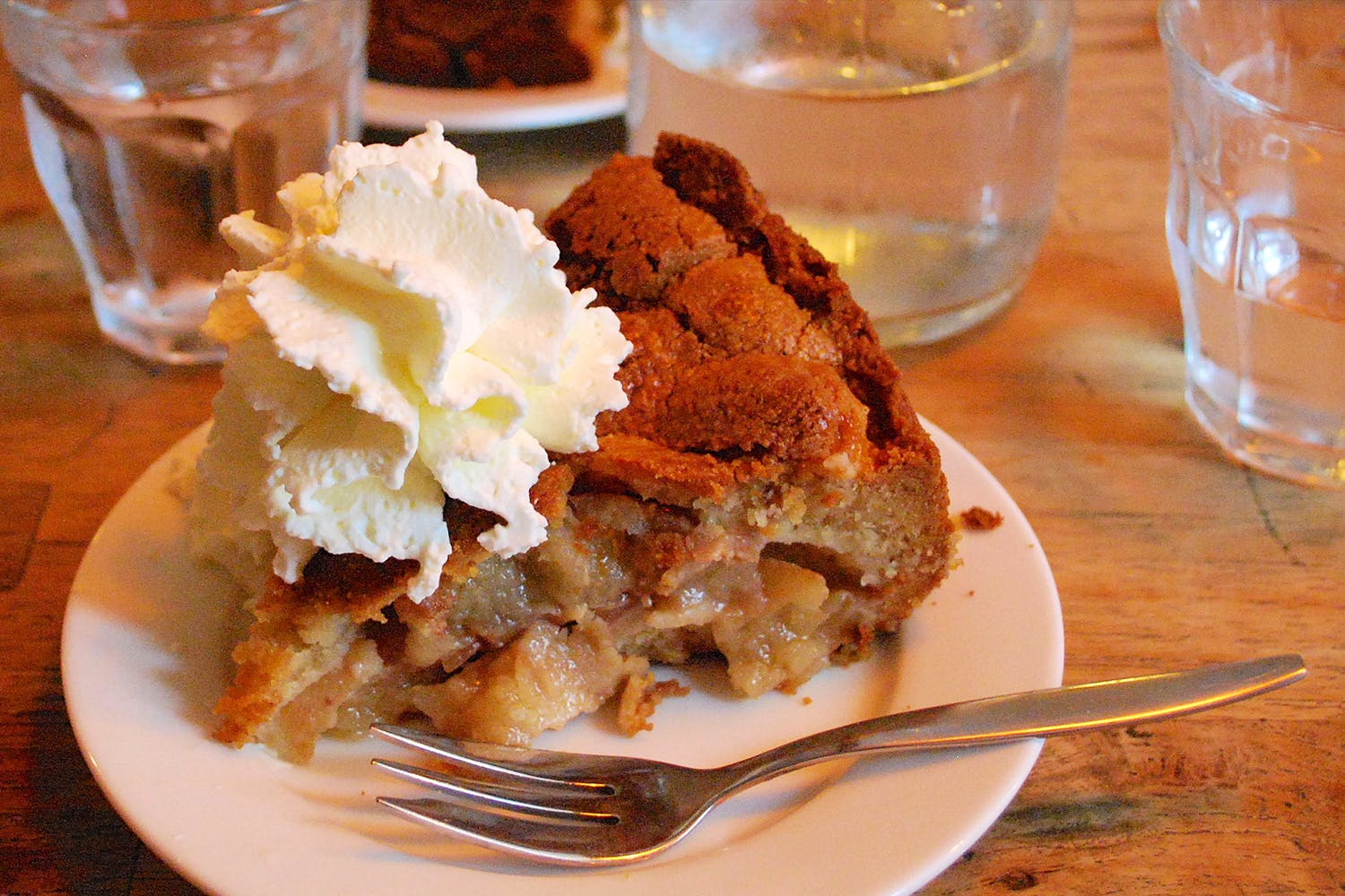 Dish,Food,Cuisine,Ingredient,Dessert,Bread pudding,Baked goods,Produce,Whipped cream,Pudding