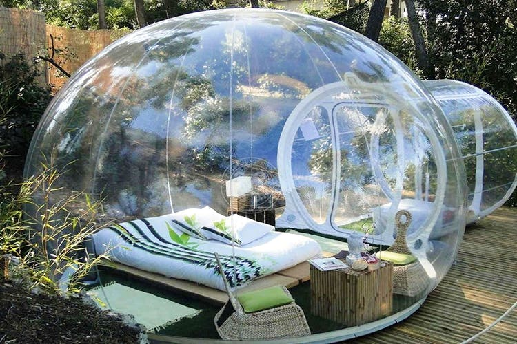 Inflatable,Sphere,Dome,Games,Reflection,Furniture,Tent,Earth,World,Couch