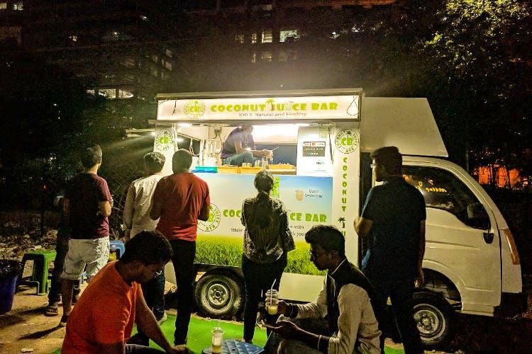 DLF Street Food Scene, Gachibowli | LBB, Hyderabad