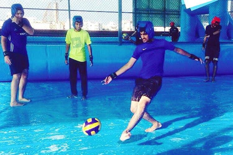 Sports,Leisure,Team sport,Futsal,Fun,Recreation,Ball game,Leisure centre,Competition event,Sports equipment
