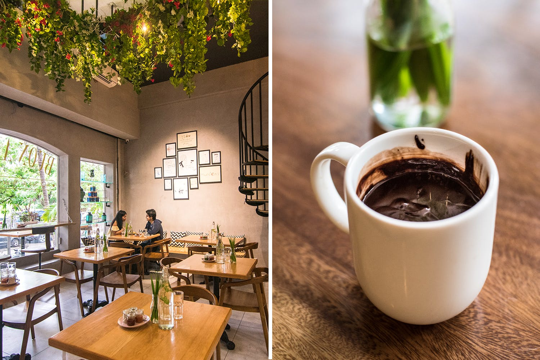 Green,Table,Room,Cup,Interior design,Coffee,Brunch,Drink,Café,Coffee cup