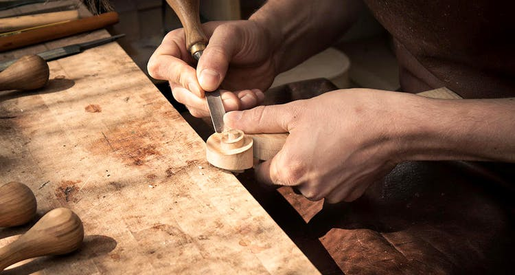 Silversmith,Hand,Chisel,Wood,Artisan,Finger,woodworking,Tool