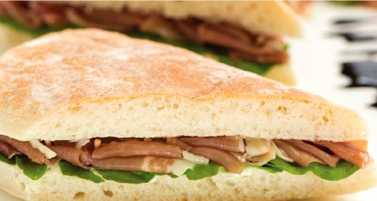 Dish,Food,Cuisine,Ingredient,Sandwich,Ham and cheese sandwich,Breakfast sandwich,Ciabatta,Baked goods,Staple food