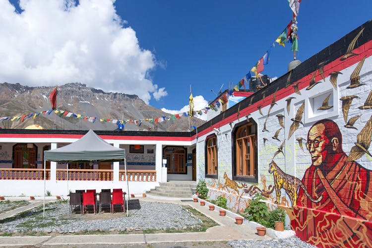 Monastery,Building,Temple,Place of worship,Tourism,Mountain,Hindu temple,Architecture,Temple,House