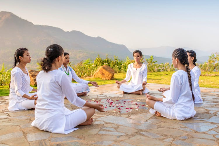 Sitting,Leisure,Event,Fun,Physical fitness,Meditation,Vacation,Recreation,Tourism