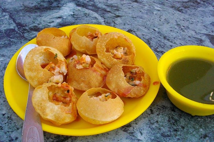 Dish,Food,Cuisine,Ingredient,Produce,Panipuri,Fried food,Snack,Dessert,Side dish