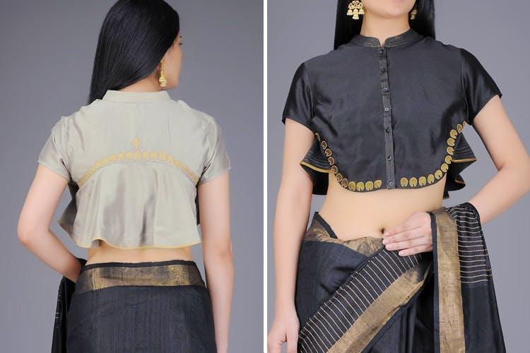 07f28fb15f092 Buy Ready Made Blouses From These Websites