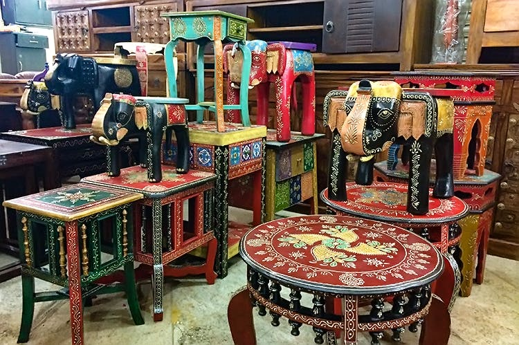 Panchkuian Road Furniture Market