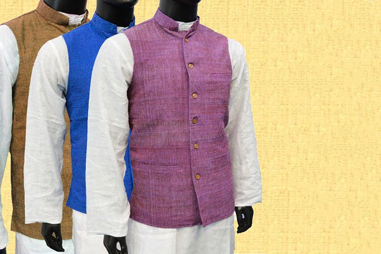 68e3c316bb2a Looking For Awesome Nehru Jackets  Khadi India s Got Plenty