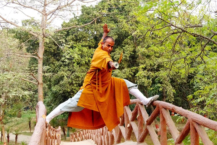 image - Shaolin Temple India