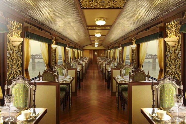 Building,Restaurant,Interior design,Room,Ceiling,Furniture,Palace,Ballroom