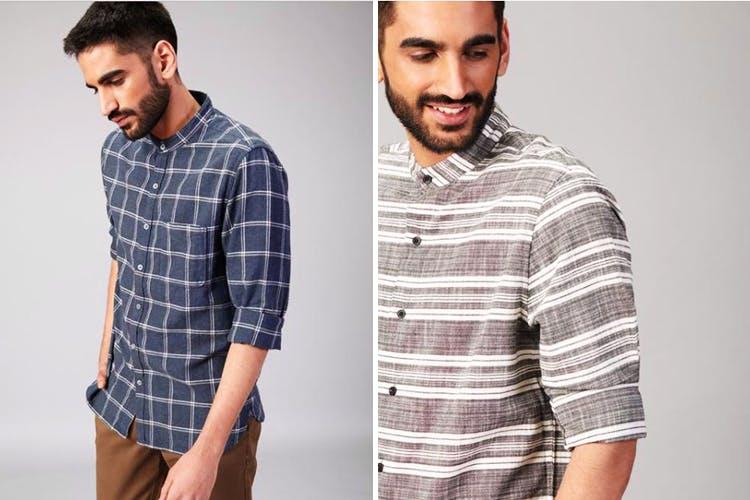 Clothing,Plaid,Pattern,Sleeve,Tartan,Collar,Dress shirt,T-shirt,Gentleman,Design