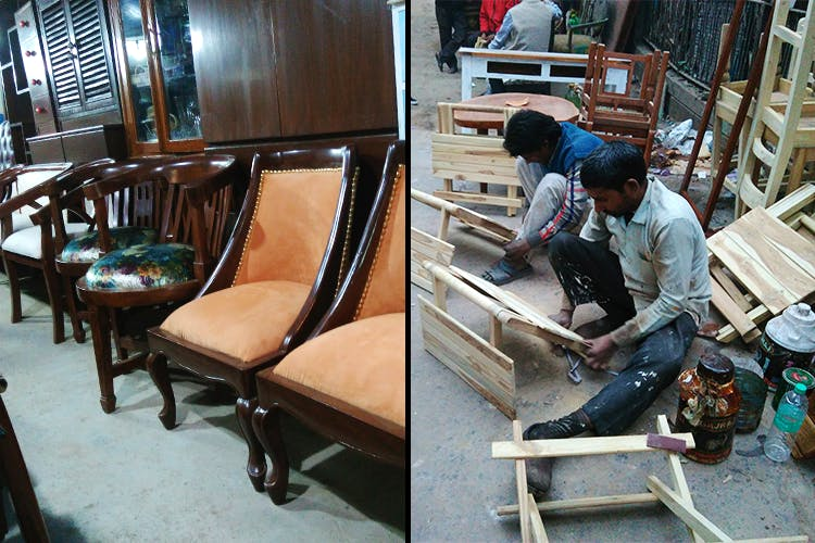 image - Furniture Too Expensive Online? These Amar Colony Shops Will Recreate Any Design ForLess!