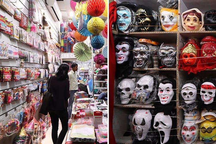We Found The Craziest Party Supplies In This Hidden Lane In Sadar Bazaar
