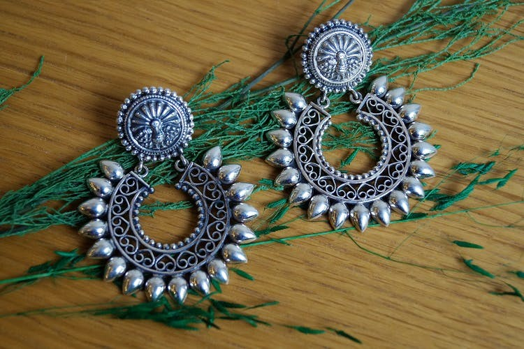 Jewellery,Fashion accessory,Earrings,Turquoise,Ornament,Silver,Metal