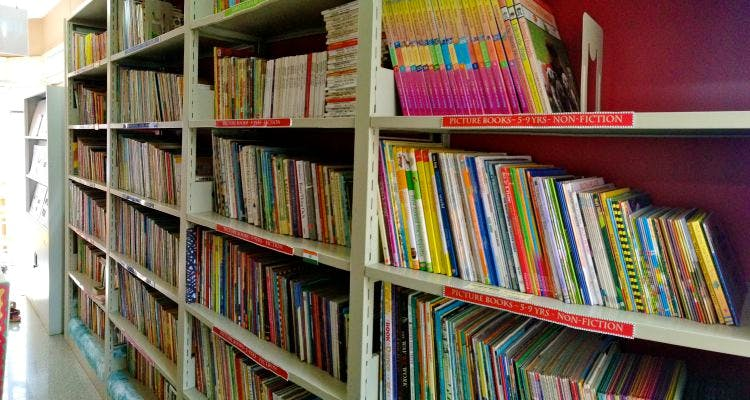Library,Bookcase,Shelving,Shelf,Public library,Book,Publication,Bookselling,Cyclone,Furniture