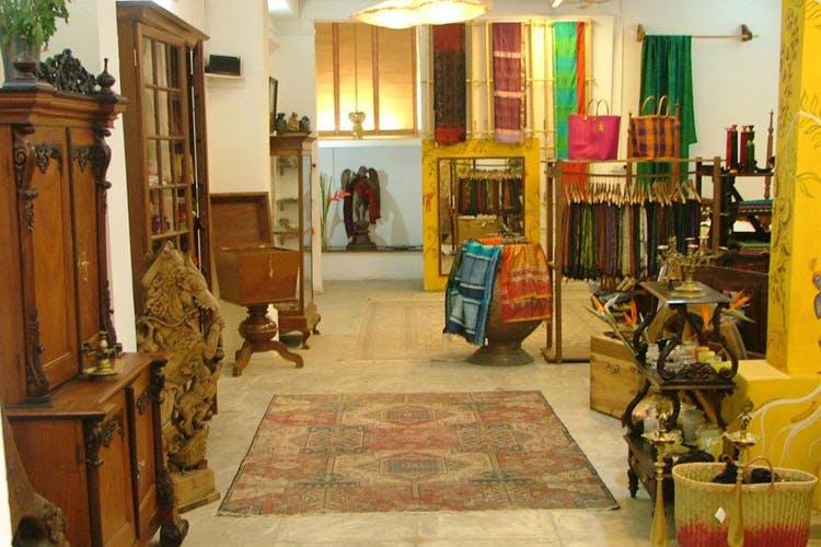 Shop For Artisan Merchandise In The Comfort Of A Heritage Home In Basavanagudi