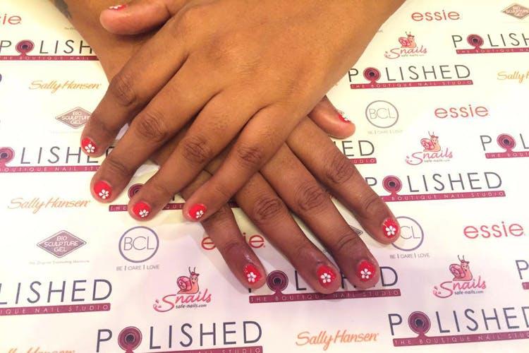 Nail,Manicure,Nail care,Nail polish,Finger,Cosmetics,Hand,Pink,Skin,Material property