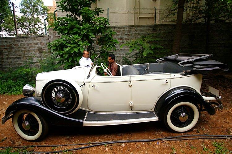 Ravi Prakash S Vintage Car Collection Little Black Book Bangalore