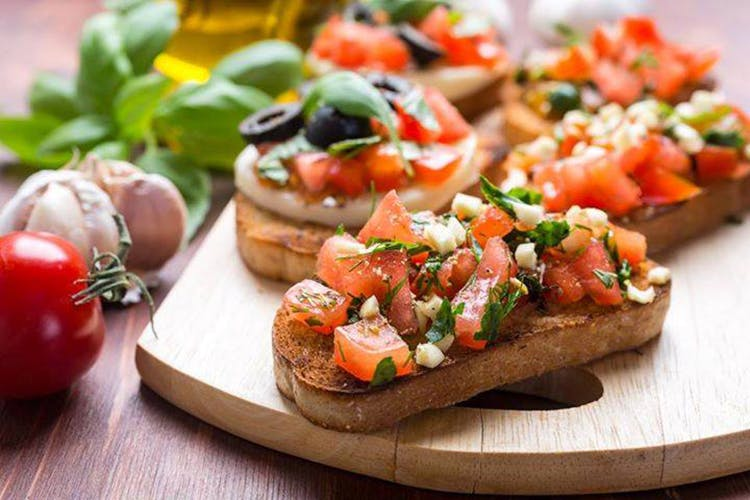 Dish,Food,Cuisine,Bruschetta,Pebre,Ingredient,appetizer,Bread,Finger food,Hors d'oeuvre