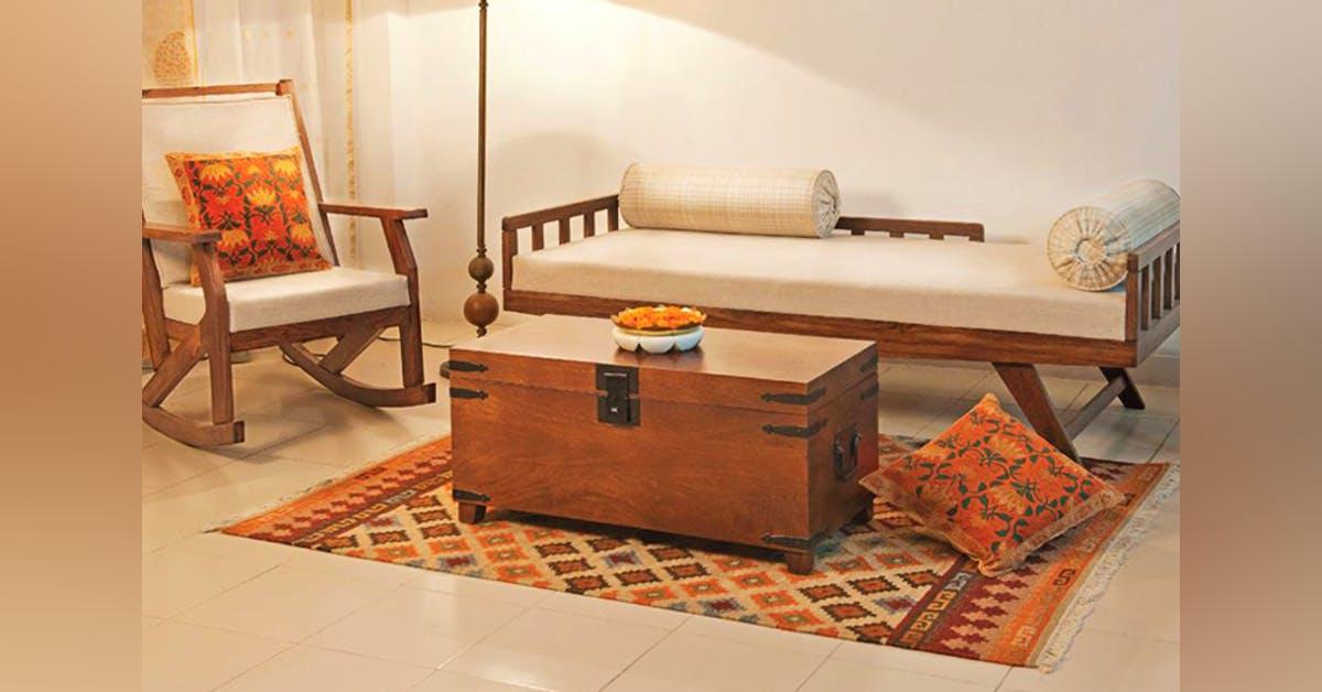 Fabindia Wooden Sofa Set Googdrive Com
