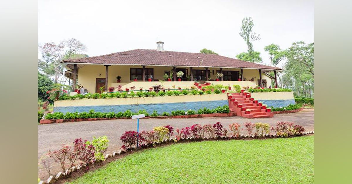 Woshully Bungalow, Tata Coffee Plantation Trail, Coorg ...