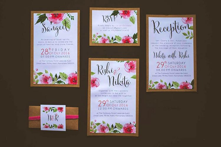 Pink,Text,Invitation,Wedding invitation,Botany,Font,Stationery,Calligraphy,Floral design,Plant