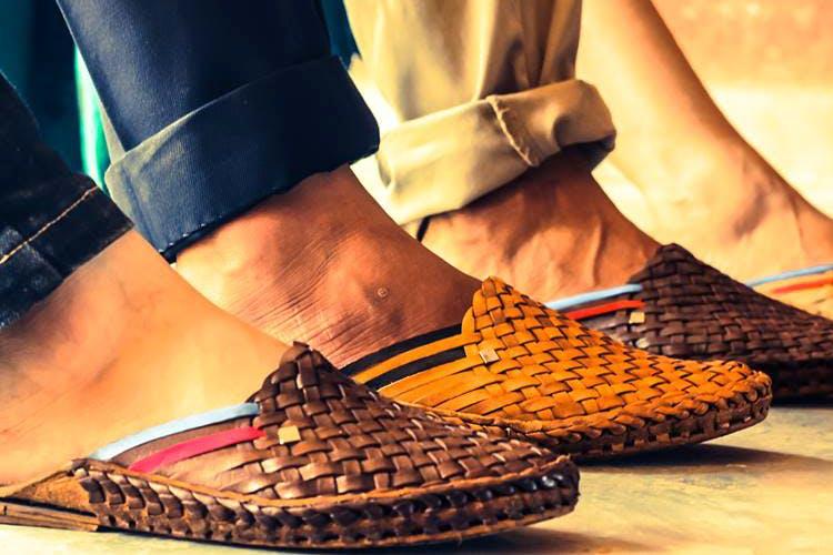 Footwear,Shoe,Orange,Leg,Sandal,Tan,Brown,Human leg,Slipper,Joint