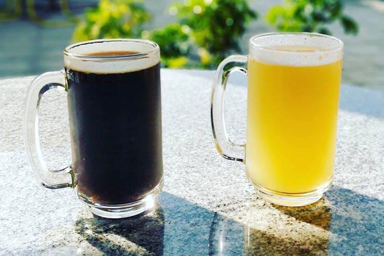 Drink,Vegetable juice,Beer,Juice,Distilled beverage,Pint glass,Lager,Food,Beer cocktail,Beer glass