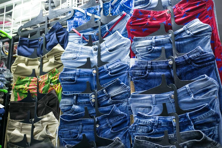 Hill Road Market for Men to find branded clothes at cheaper rate