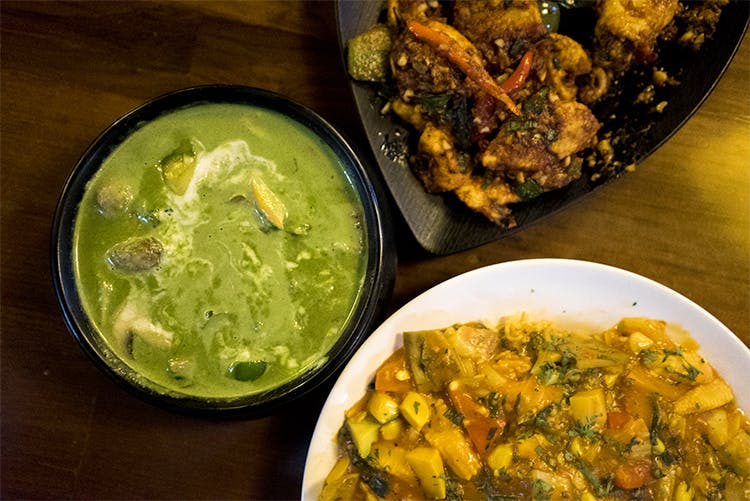 Dish,Cuisine,Food,Ingredient,Produce,Curry,Indian cuisine,Recipe,Meal,Avial