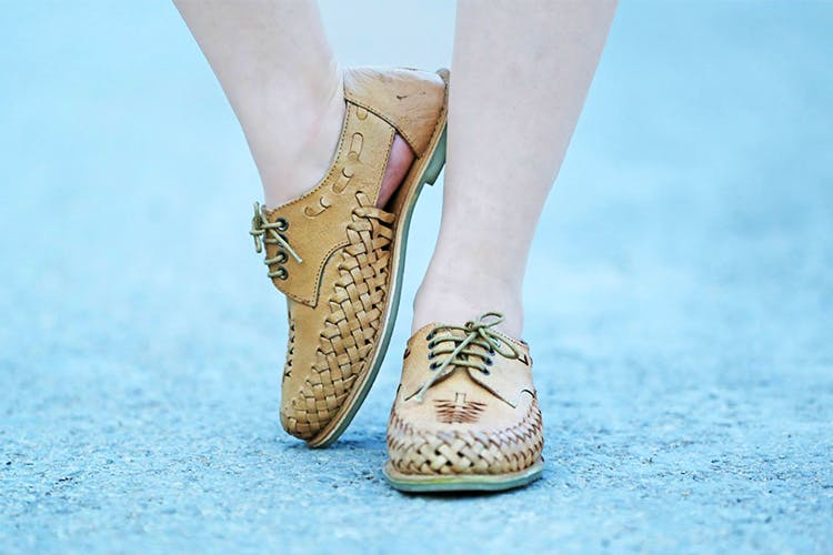 Footwear,Shoe,Human leg,Ankle,Leg,Beige,Fashion,Close-up,Calf,Street fashion