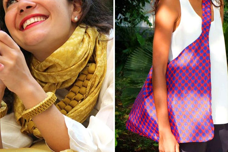 Clothing,Dress,Yellow,Neck,Pattern,Sleeveless shirt,Fashion accessory,Pattern,Magenta,Style