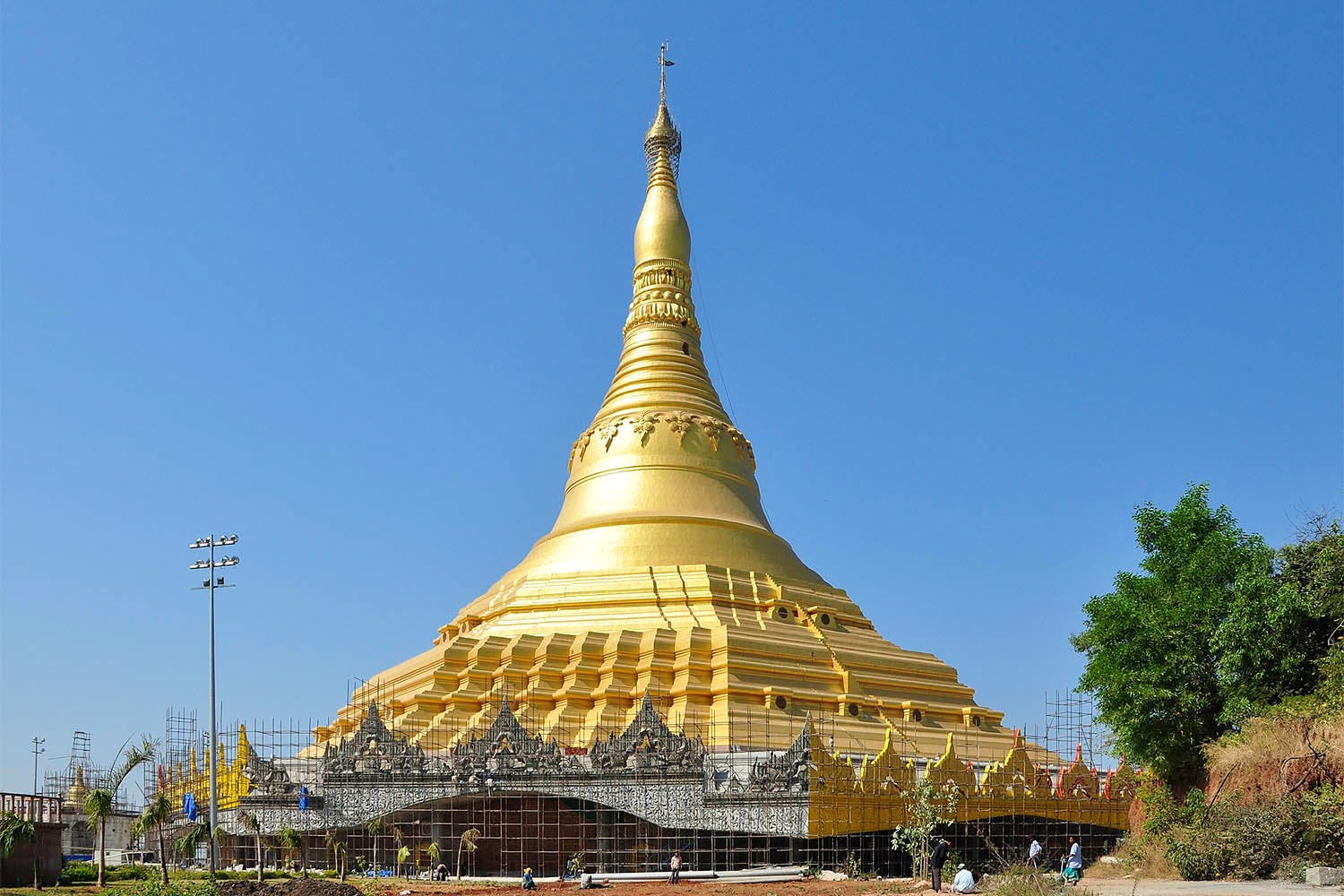 Landmark,Tower,Place of worship,Spire,Temple,Architecture,Historic site,Pagoda,Building,Stupa