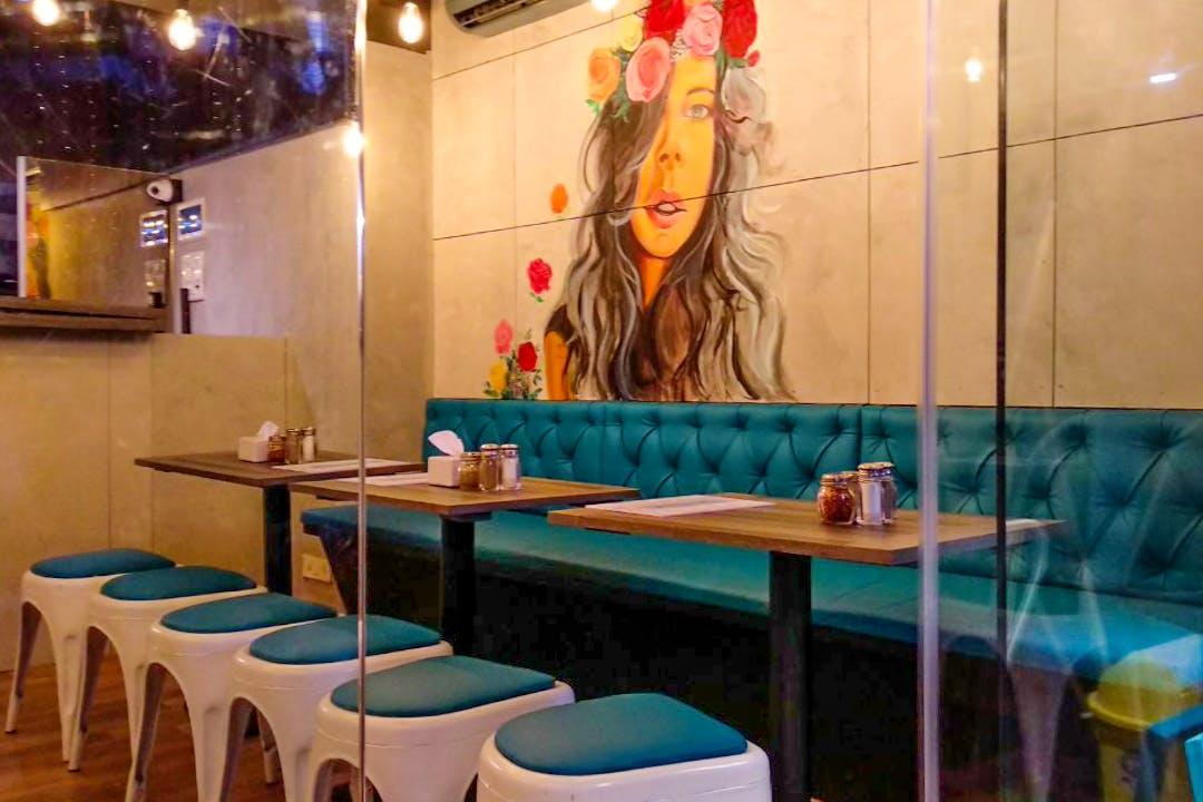 Restaurant,Room,Table,Interior design,Furniture,Building